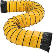 Flame Retardant Flexible Duct 16Ft for 16 Inch Diameter Fan