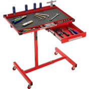 Sunex® 8019 Heavy Duty Adjustable Work Table W/Drawer