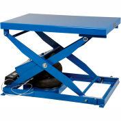 Vestil Air Bag Scissor Lift Table ABLT-2000 48 x 32 2000 Lb. Capacity