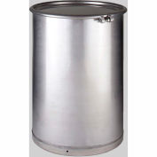 Skolnik 55 Gallon Stainless Steel Open Head Process Drum with Lid IP55TO-CR