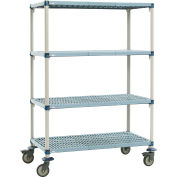 MetroMax Q Shelf Truck MQ4756702 Four shelf 48x24x79""
