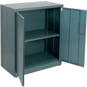 "Global™ EZ Assemble Steel Storage Cabinet 36""W x 18""D x 42""H Gray"