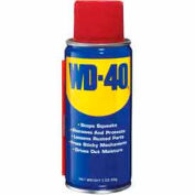 WD-40® Multi-Use Aerosol Lubricant - 3 oz. Handy Aerosol Can - 110108/490002 - Pkg Qty 12