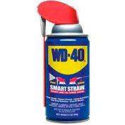 WD-40® Multi-Use Aerosol Lubricant  - 8 oz. Smart Straw Aerosol Can - 110054/490026 - Pkg Qty 12