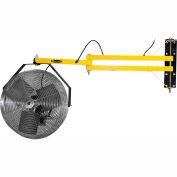 """TPI 18"""" Dock Fan with 60"""" Arm 115V 1/8HP 2,500 CFM"""