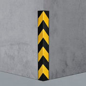 "Rubber Corner Guard 90°, Medium Duty, 31""L"