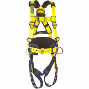 DBI-SALA® Delta™ Construction Style Positioning Harness, 3XL, 1101660