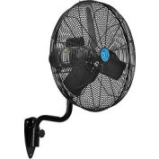 "CD® Premium 24"" Oscillating Wall Mount Fan With TEAO Motor, 1/2 H, 9400 CFM"