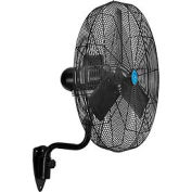 CD Premium 30 Inch Oscillating Wall Mount Fan 1/2 HP TEAO Motor, 11,500 CFM