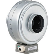 Inline Mixed Flow Duct Fan, 4 Inch, Galvanized Steel, 156 CFM, Energy Star