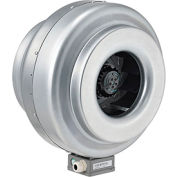 Inline Mixed Flow Duct Fan, 12 Inch, Galvanized Steel, 930 CFM, Energy Star