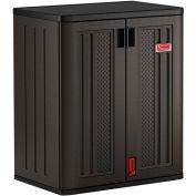 """Suncast Plastic Base Storage Cabinet BMCCPD3600 - 30"""" W x 20-1/4"""" D x 36""""H"""