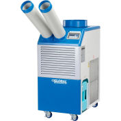Industrial Portable Air Conditioner 1.1 Ton w/ Cold Air Nozzles 13,200 BTU, 115V