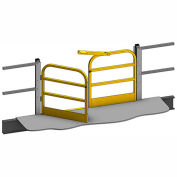 "Mezzanine Swing Gate 3 Rail 6'Lx42""H"