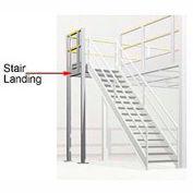 Staircase Landing - Boca 3-Rail (4' x 4')