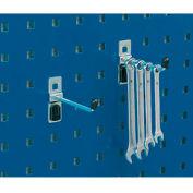 """Bott 14001104 Single Straight Hooks For Perfo Panels - Package of 5 - 3""""L"""