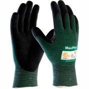PIP MaxiFlex® Cut™ Micro-Foam Nitrile Coated Gloves, Black, 2XL, 12 Pairs