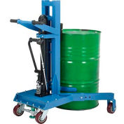 Hydraulic Drum Lifter & Transporter - 1100 Lb. Capacity