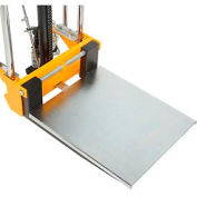 Optional Platform for Best Value Manual Lift Stackers