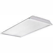 Lithonia 2GTL4 120 LP840 2x4 LED Recessed Lens Troffer, 36.3W, 120V, 4222 Lumens, 4000K