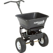 SaltDogg Walk Behind Salt Spreader W/ Carbon Steel Frame, 100 Lb. 1.5 Cu. Ft. Capacity - WB101G