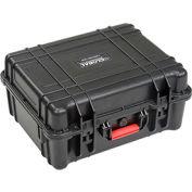 """Global Waterproof Hard Case w/Pinche Tear Foam 20""""L x 16-3/4""""W x 9-7/16""""H, Black"""