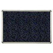 """Balt® Rubber-Tak Tackboard Euro Trim 72""""W x 48""""H Blue"""