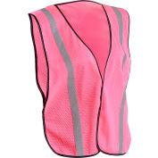 OccuNomix Value Mesh Ladies Vest LUX-XSBML-PR, Pink, Regular