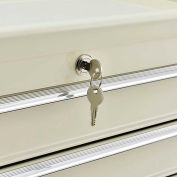 Replacement Lock Set with 2 Keys For Global Industrial™ 5-Drawer Medical Cart Model# 670147