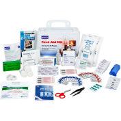 North FAK25PL-CLSA First Aid Kit, 25 Person, 120 Pieces, Class A, Plastic Case
