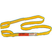 Global Industrial™Poly Web Sling, HD, Eye&Eye w/ Durable Edge, 10Ft L-3200/2500/6400 Lbs Cap