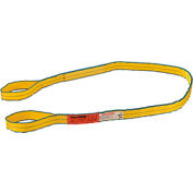 Global Industrial™Poly Web Sling, HD, Eye&Eye w/ Durable Edge, 8Ft L-6400/5000/12800 Lbs Cap