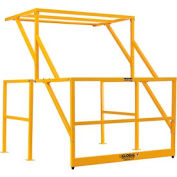 Global - Mezzanine Safety Pivot Gate K/D