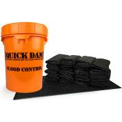 Quick Dam Grab & Go Bucket, QDGGFB-20, 20 Flood Bags