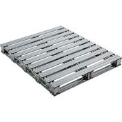 "Global Industrial™ Galvanized Steel Pallet - 48""L x 40""W x 4-3/4""H"