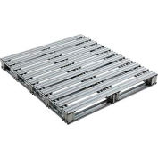 "Global Industrial™ Galvanized Steel Pallet - 48""L x 42""W x 4-3/4""H"