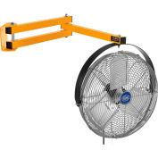 Global Industrial 24 Inch Double Arm Loading Dock Fan