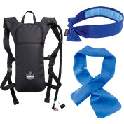 Ergodyne Chill-Its® Low Profile Hydration Pack With FREE Evaporative Cooling Band & Bandana