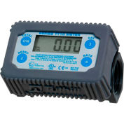 Fill-Rite TT10PN, Electronic In-line Digital Turbine Meter, 35 GPM, Engineered Polymer