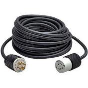 CEP 1030, 100′ 10/3, SOW, Rubber Extension Cord, 30A, 250V (NEMA L6-30)