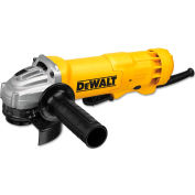DeWALT DWE402G 11-Amp Angle Grinder Paddle Grounded, 4-1/2-Inch