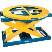 Bishamon® EZ X Loader® Self-Leveling Pallet Carousel Positioner 400-4000 Lb. Cap.