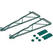 "Nexel® Poly-Green™ 21"" Single Arm Fixed Wall Bracket (Pair)"