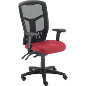 Mesh Task Chair - Fabric - High Back - Red