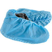 Standard Disposable Shoe Covers, Size 12-15, Blue, 150 Pairs/Case