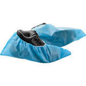 Skid Resistant Disposable Shoe Covers, Size 6-11, Blue, 150 Pairs/Case
