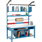 Complete Packing Workbench Plastic Square Edge - 60 x 30