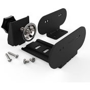 Wiremold WSPCBKTBK Mounting Kit for Desktop Power Center, Mounting Plate & Clamp, Black