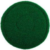 "Global Industrial™ 13"" Green Scrub Brush Alternative Scrubbing Pad - 4 Per Case"