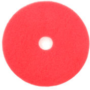 "18"" Red Buffing Pad - 5 Per Case"